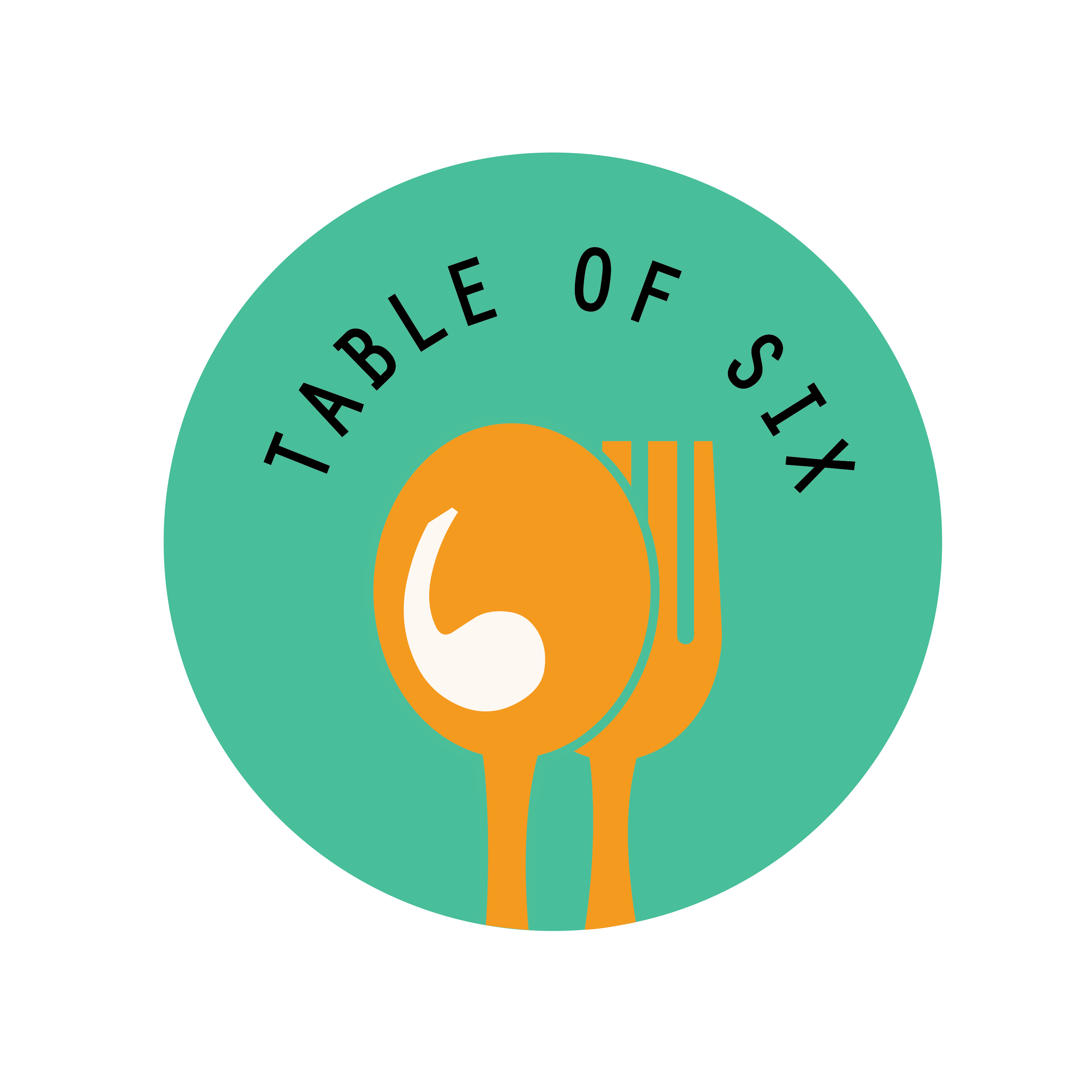 Table of Six Logo